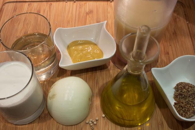 Ingredientes Salsa de Mostaza