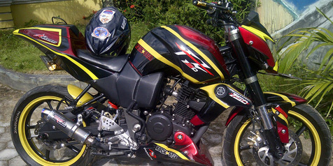 Modifikasi Yamaha Byson Minimalis