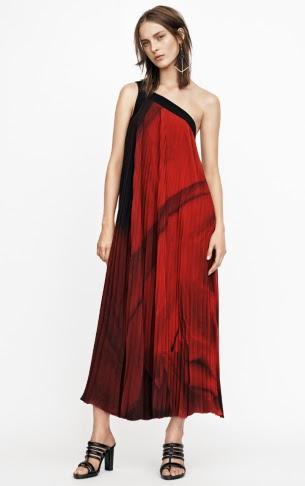 H&M Conscious Exclusive vestido asimétrico