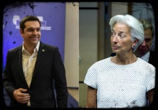 """Αποκάλυψη """"βόμβα""""! Συνάντηση Λαγκάρντ - Τσίπρα στο Νταβός για το χρέος!"""