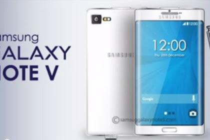 Samsung Galaxy Note 5 Smartphone Terbaru