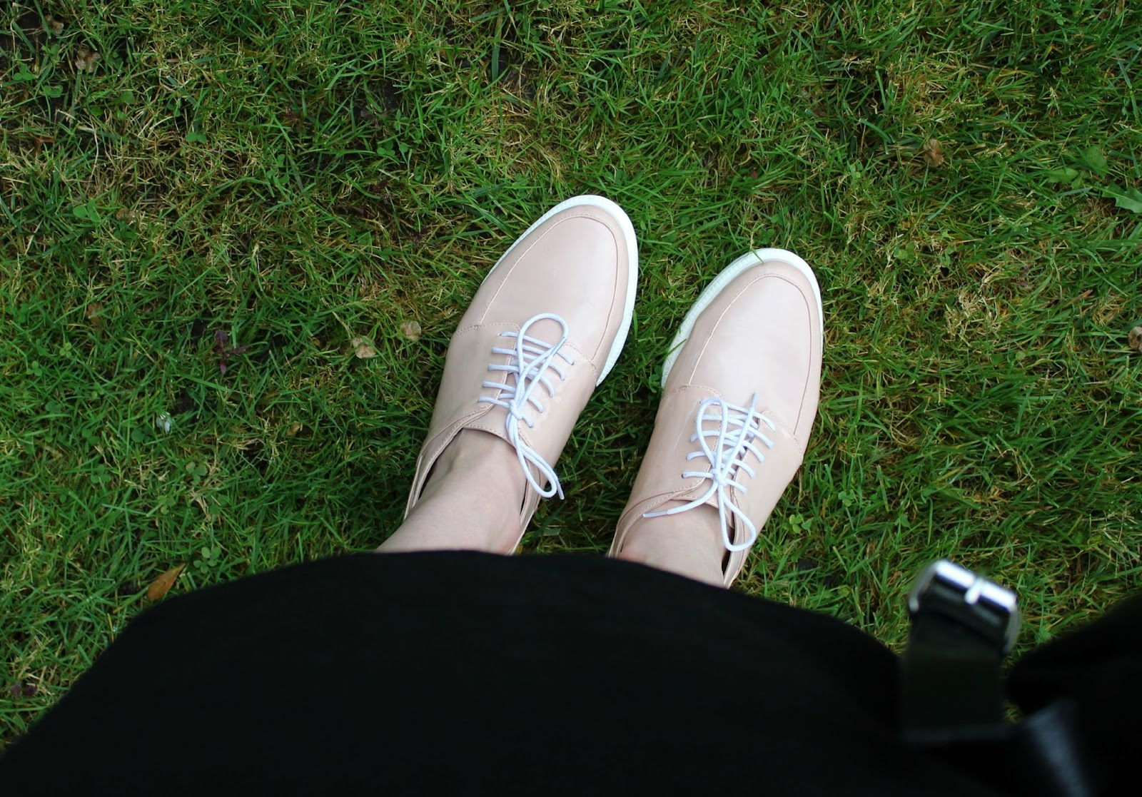 Affordable flatform brogues