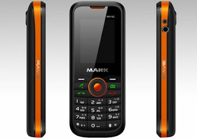 Maxx MX182 Rave Mobile Phone Review and Specification