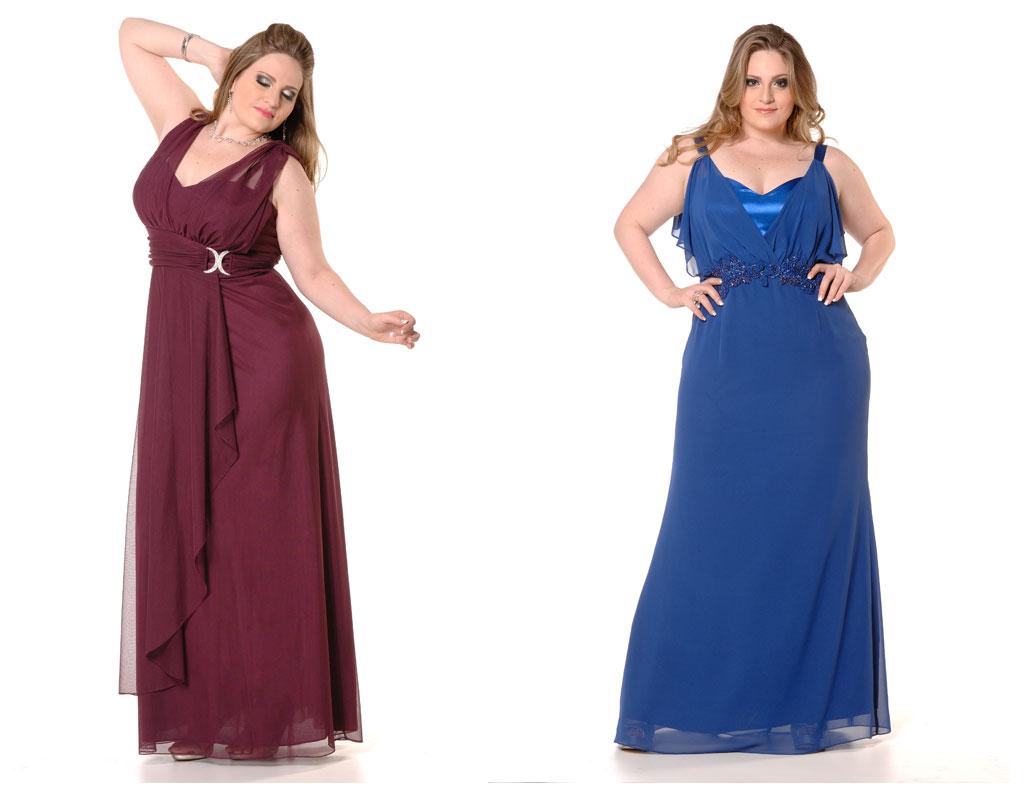 Mundo de Calíope: Vestidos de festa Plus Size para usar na