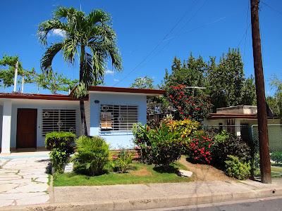 Santiago de Cuba Vista Alegre house and nice landscape