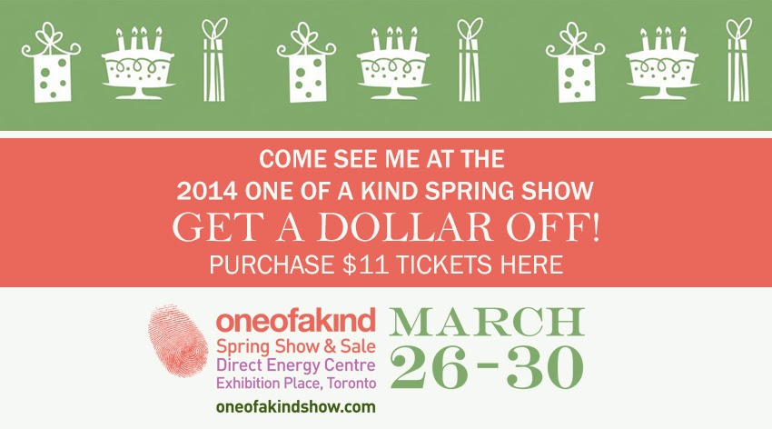 One of a Kind Spring Show and Sale Coupon