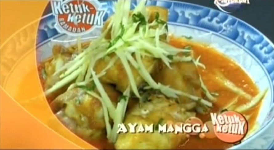 Ketuk-ketuk Ramadan 2014 bersama Zulin Aziz, Tesco Ampang, Sambal Sotong Ketenge', Ayam Mangga