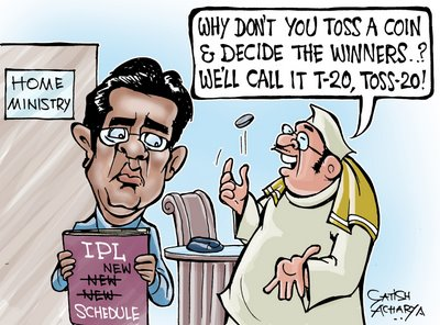 IPL 2009 Funny Cartoons (7)