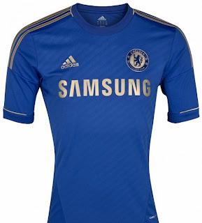Inilah Jersey (Kostum) Baru Chelsea Musim 2012-2013