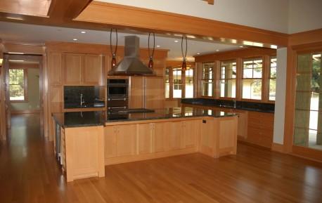 Desain Ruang Dapur Warna Coklat