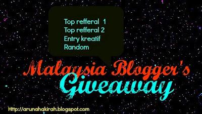 http://arunahakirah.blogspot.com/2013/11/malaysia-bloggers-giveaway-by-anadiera.html