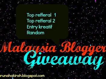 """ Malaysia Blogger's Giveaway """