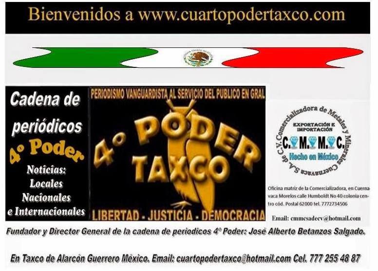 Bienvenido a www.cuartopodertaxco.com