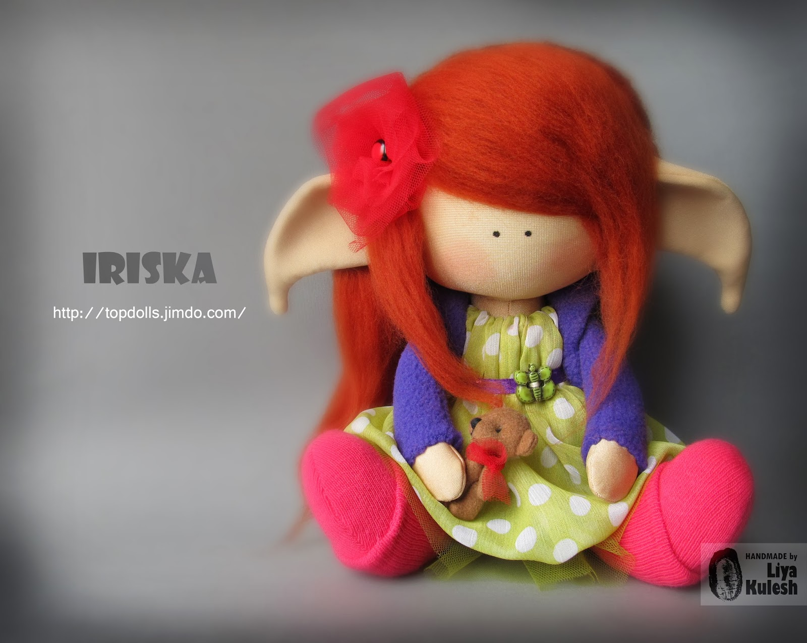 Кукла эльф своими руками 73
