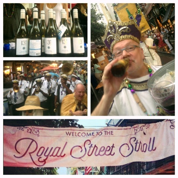 New Orleans Wine and Food Experience Royal Street Stroll 2015