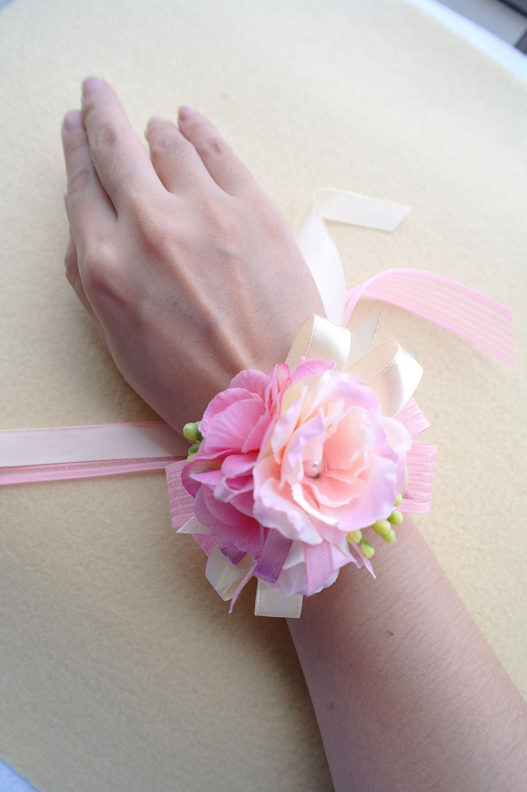 Inakabeads Handmade Fabric Flower Accessories: 2015