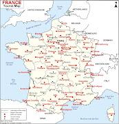 Mapa de Francia Ciudade