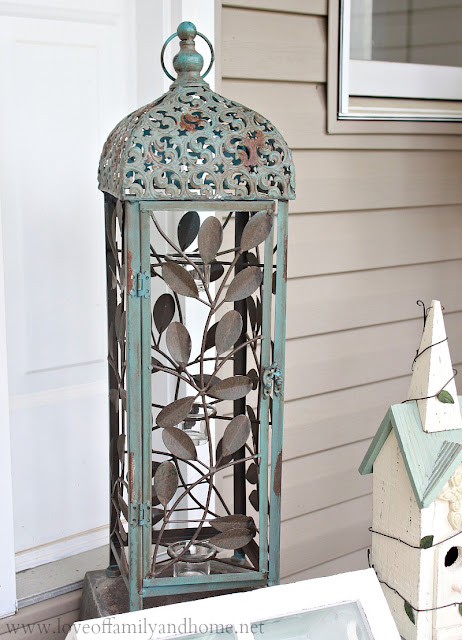 Metal Outdoor Lantern via Kirkland's