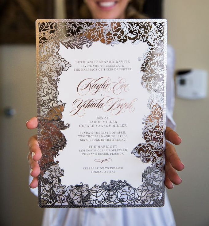 Wedding Invitations Laser Cut