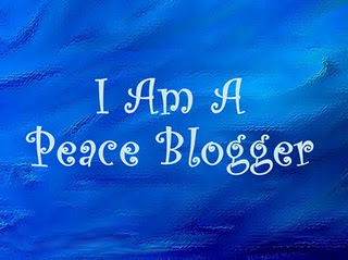 I blog for peace!