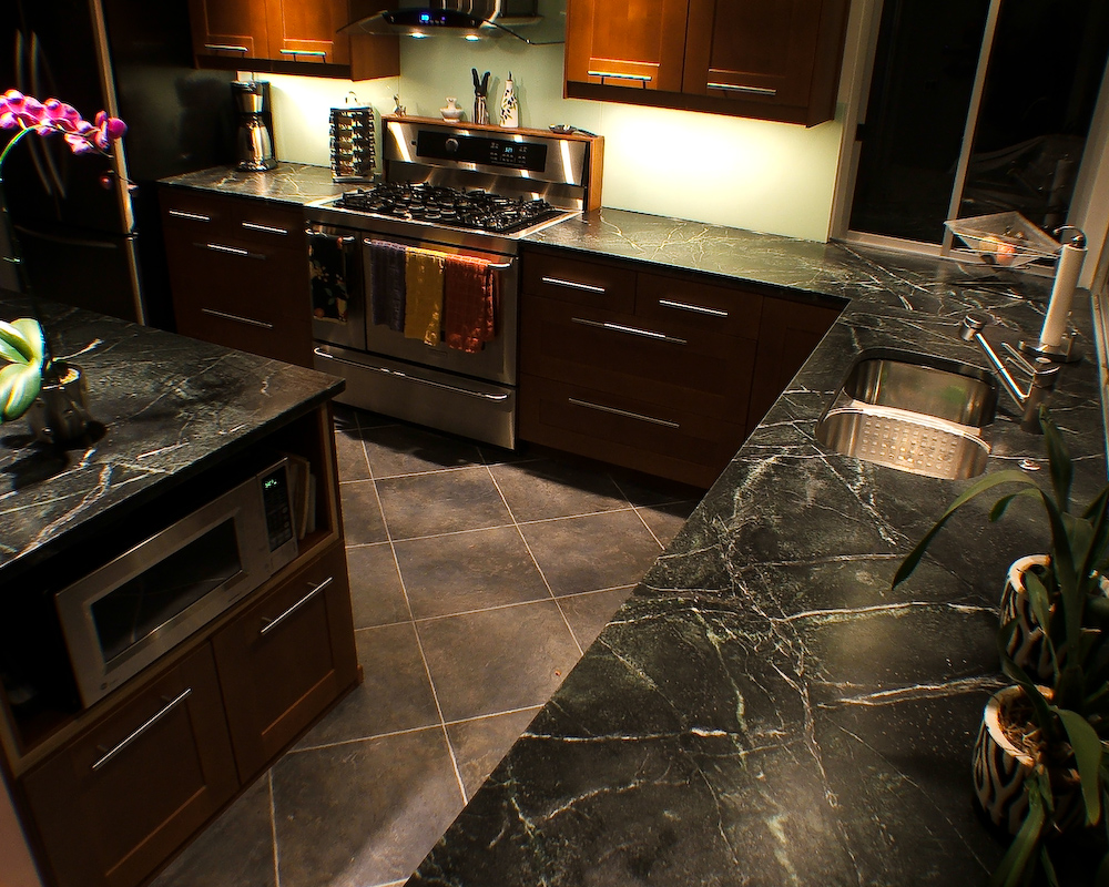 Use Soapstone For Your Coutnertops: Soapstone Is Durable And Easy To  Maintain!