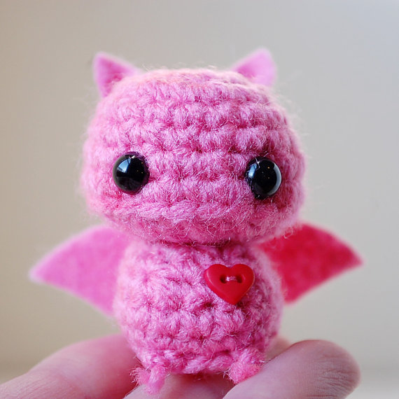 Kawaii Potato Amigurumi : dollparts: Completely Batty
