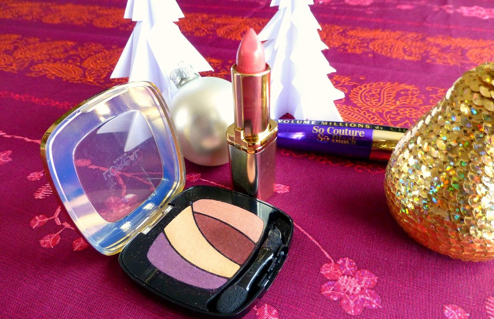 Maquillage Impérial grâce à la collection Tsarina de l'Oréal