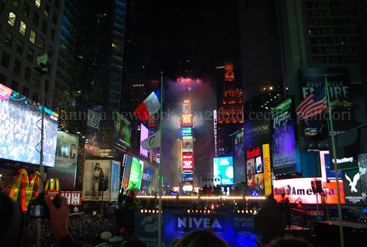 capodanno a new york 2012 foto cecilia polidori