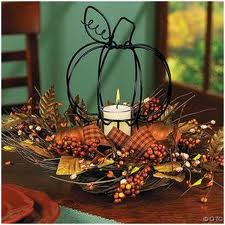 twigs, berries, feathers fall centerpiece