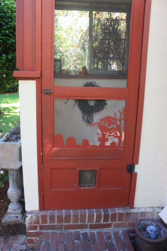 The davis house new screen door feature for New screen door