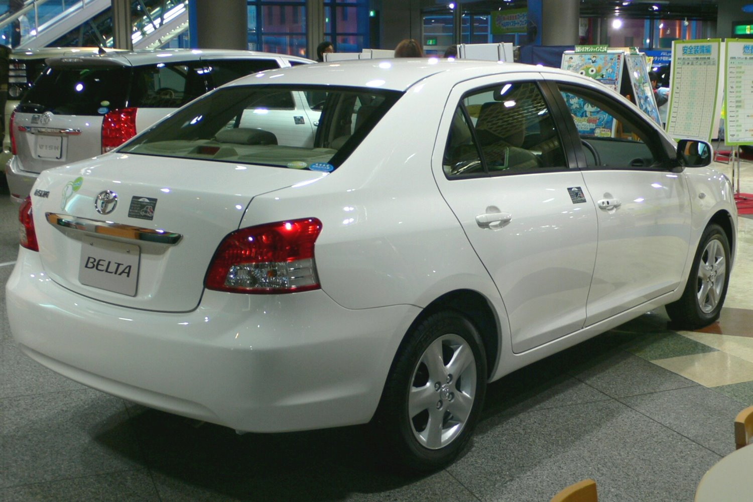 Toyota Belta  Car Models