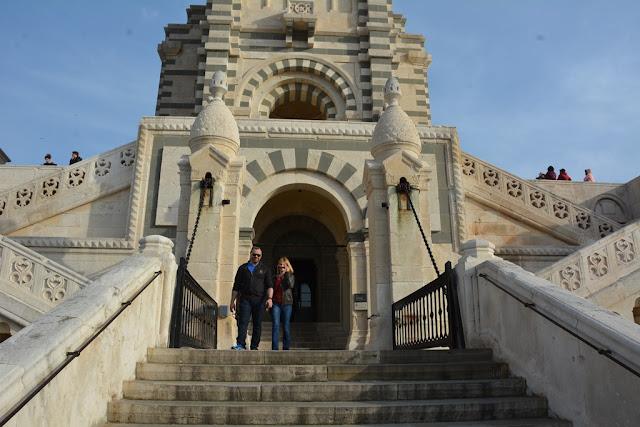 Basilica Notre-Dame de la Garde Marseille bridge