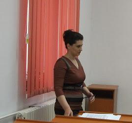 Aspect de la susţinerea tezei de docrorat a d-rei Alexandra-Marcela Popescu, 16.XII.2011...