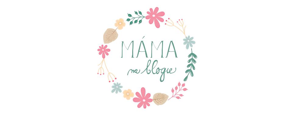 Máma na blogu