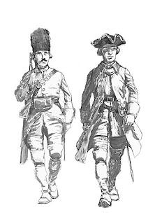 Boceto pintura de soldados en Cartagena de Indias blas de Lezo 1