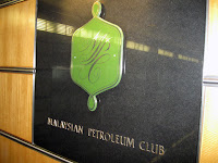 This event was held at the exclusive Malaysian Petroleum Club on the 42nd floor of the Petronas Twin Towers