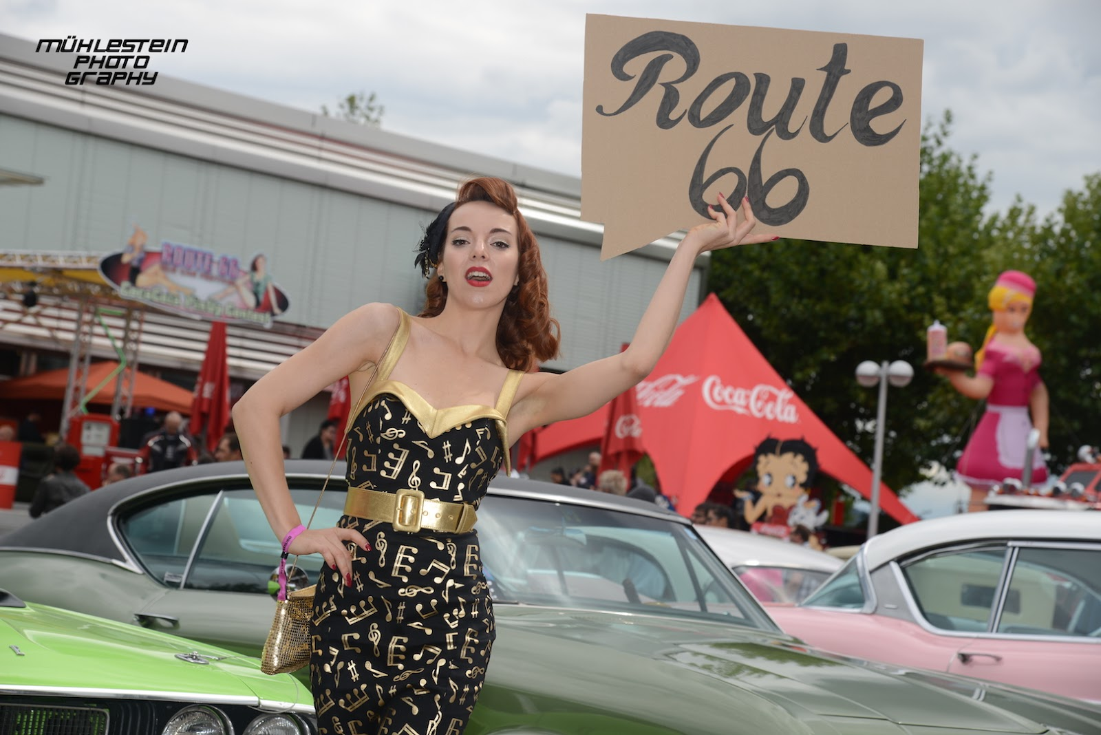 route 66 aarburg 2015 coca cola pinup contest 2015 rina bambina