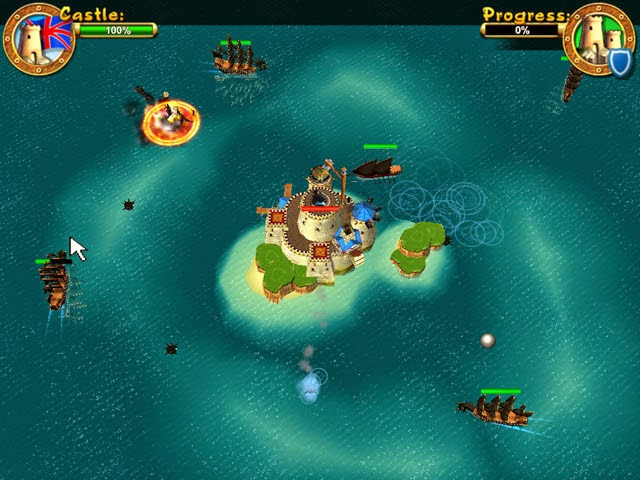 Game Pirates Battle for Caribbean
