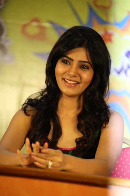 Samantha Latest Stills At Jabardasth Movie Press Meet