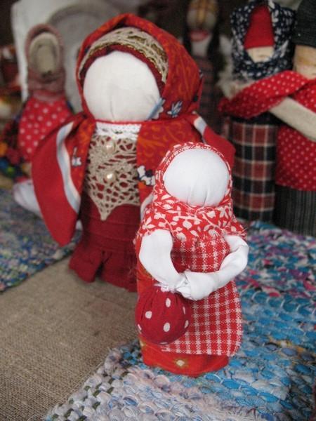 Тряпичные куклы 17