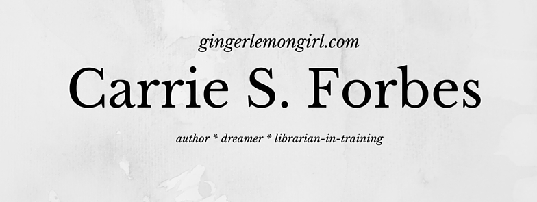 Carrie S. Forbes - Gingerlemongirl.com