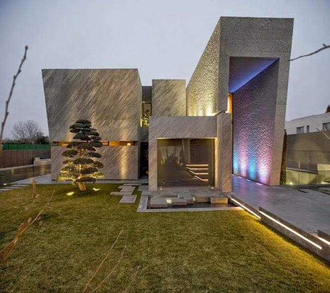 casas minimalistas y modernas mas accesos minimalistas