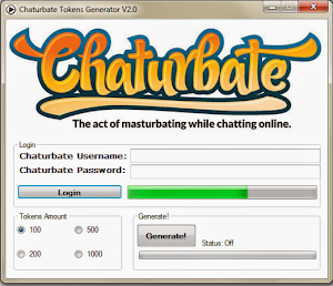 CHATURBATE FREE TOKEN GENERATOR 2013