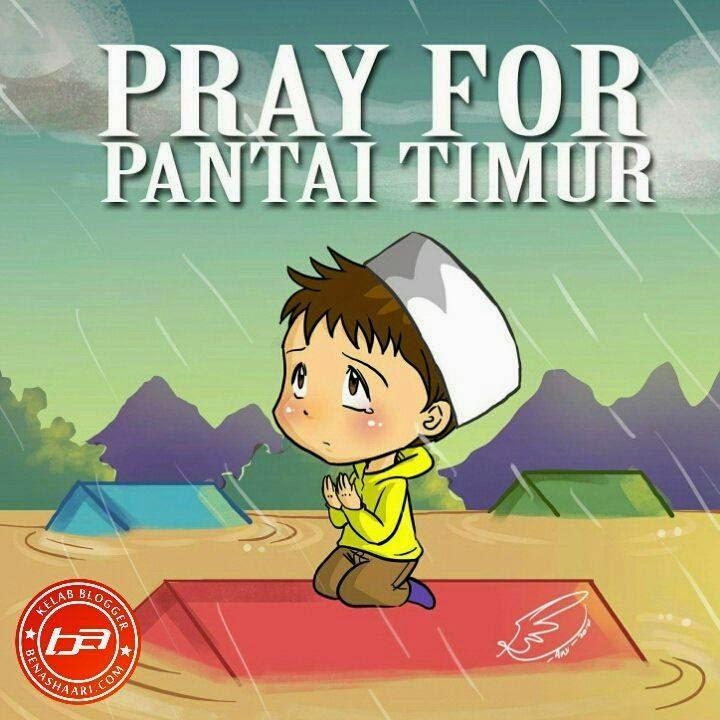 pray for pantai timur