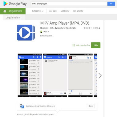play google com - store - mkv amp player
