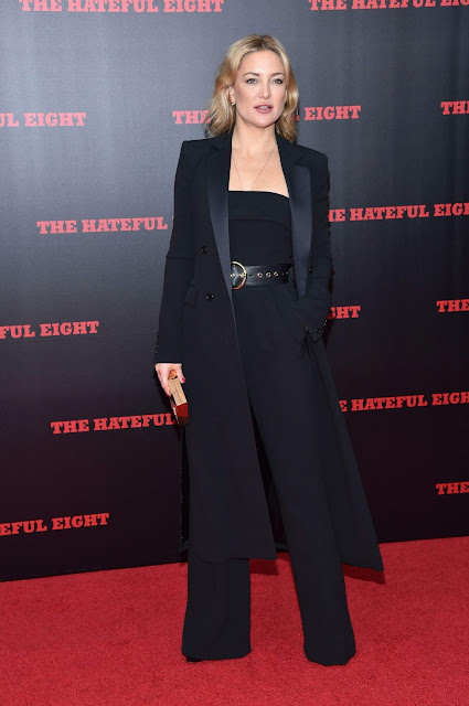 Actress, @ Kate Hudson 'The Hateful Eight' film premiere, New York, America