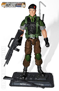 Hasbro GI Joe Club Exclusive Subscription Service 2.0 Night Force Lt. Falcon