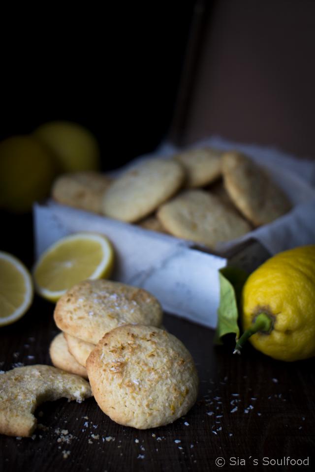 Zitronen-Kokos-Cookies