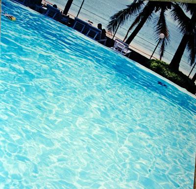 deep pool in hotel