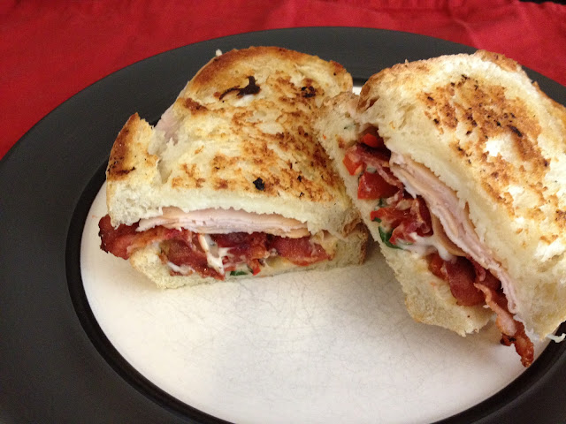 Smoked Turkey Bacon Sandwich